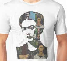 Frida Kahlo Paintings and Photographs Mix Unisex T-Shirt