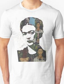 Frida Kahlo Paintings and Photographs Mix T-Shirt