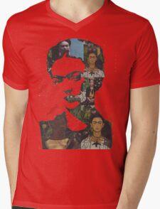 Frida Kahlo Paintings and Photographs Mix Mens V-Neck T-Shirt