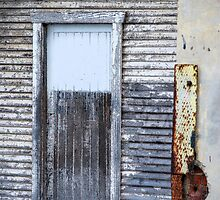 Rustic Door - Fred Ash Building, Newcastle NSW by Bev Woodman