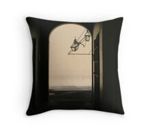 The Wake Up Call Throw Pillow