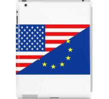 united states of america and european union  iPad Case/Skin