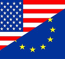 united states of america and european union  by tony4urban