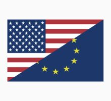 united states of america and european union  Kids Clothes
