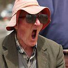 Old Man Yawning 2 by Annie Austin