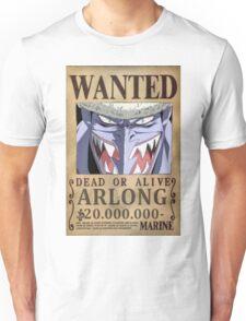 Wanted Arlong - One Piece Unisex T-Shirt