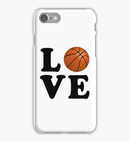 Love Basketball iPhone Case/Skin