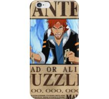 Wanted Puzzle - One Piece iPhone Case/Skin