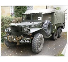 Dodge 6x6 Cargo - Personnel Carrier Poster