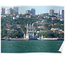 Belém Tower. Restelo Poster