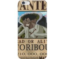 Wanted Coribou - One Piece iPhone Case/Skin