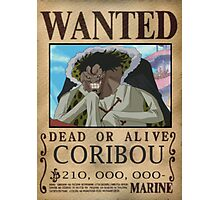 Wanted Coribou - One Piece Photographic Print