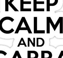 Keep Calm And Gabba Gabba Hey! v2 Sticker