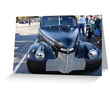 Da CandidCar Show NC Greeting Card