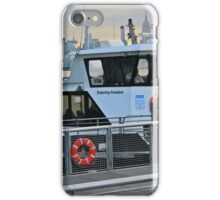 Ferry Boat Enduring Freedom iPhone Case/Skin