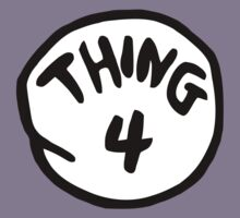 Thing 4 Kids Clothes