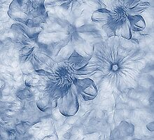 Posy - Cyanotype by John Edwards