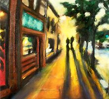 Walking in Campustown by Robert Reeves