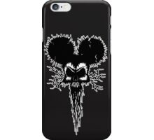 Hammer Mouse of Horror for dark tees iPhone Case/Skin