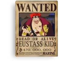 Wanted Kid - One Piece Canvas Print
