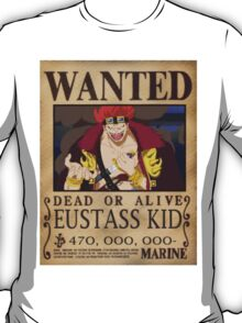 Wanted Kid - One Piece T-Shirt