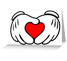 Love fingers. Greeting Card