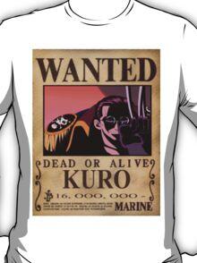 Wanted Kuro - One Piece T-Shirt