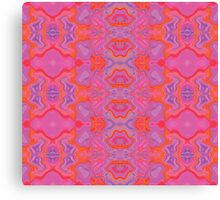 Mad pink marble 2 Canvas Print