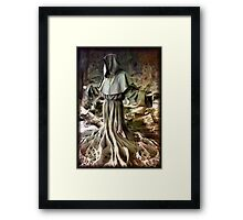 ancient roots Framed Print