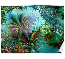 Enchanted River Poster