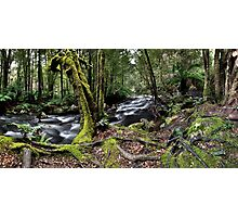 Meeting of the waters Panorama Photographic Print
