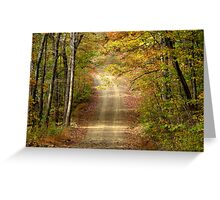All Up Hill From Here Greeting Card