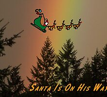 Santa Is On His Way by Jonice
