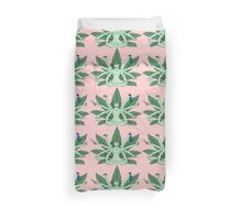 Queen Of Weed Duvet Cover