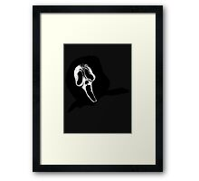 Scream! Framed Print