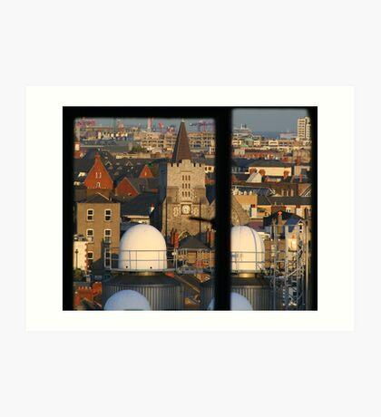 Window to Dublin Art Print