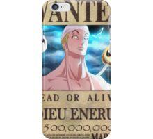 Wanted Eneru - One Piece iPhone Case/Skin