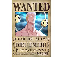Wanted Eneru - One Piece Photographic Print