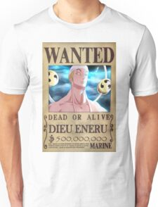 Wanted Eneru - One Piece Unisex T-Shirt
