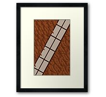 Let the Wookie Win - Chewbacca Framed Print