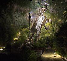 Steavensons falls by night, Marysville by Vicki Moritz