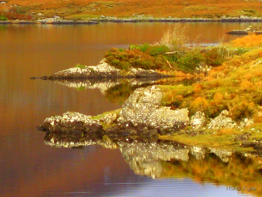 Mirror Reflections and Colours of Water by Honor Kyne