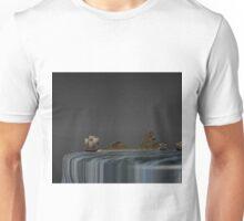 Sailing on world´s edge Unisex T-Shirt