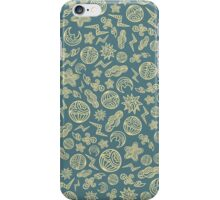 Hand drawn ornaments of the weather.  iPhone Case/Skin
