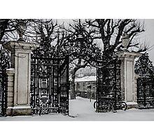 Gate to Winter Wonderland Photographic Print