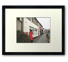 Post Office and Post Box Framed Print
