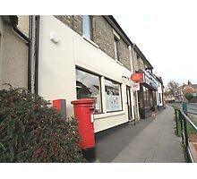 Post Office and Post Box Photographic Print