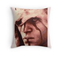 Assassin´s Creed 3 Connor Stitched look Throw Pillow