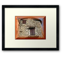 Magnificent old house Framed Print