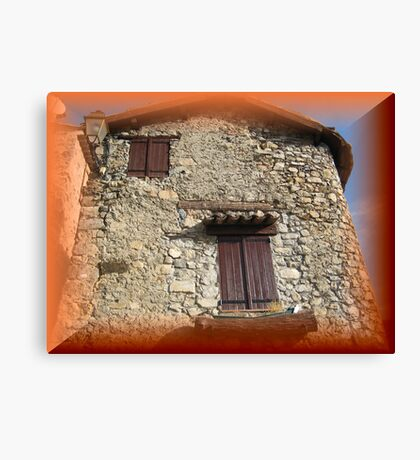 Magnificent old house Canvas Print